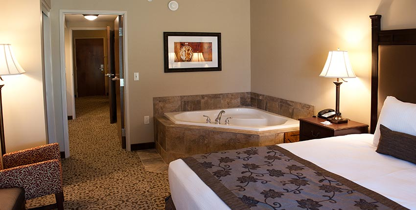 Two Room King Suites with Jacuzzi and Patio at Best Western Plus Intercourse Village Inn & Suites