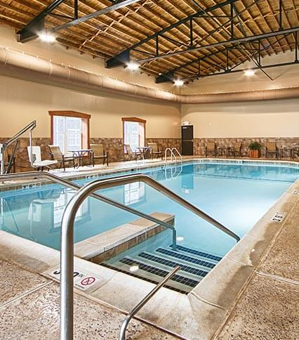 Large Indoor Pool of Best Western Plus Intercourse Village Inn & Suites